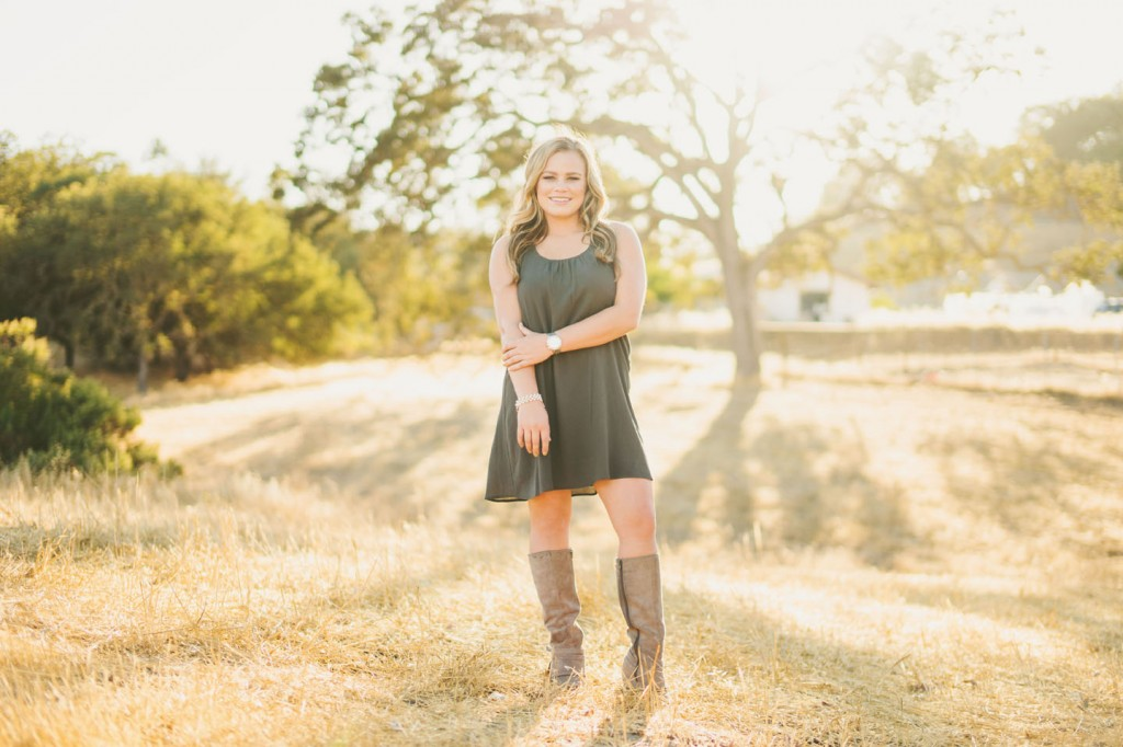 Atascadero high school senior photos