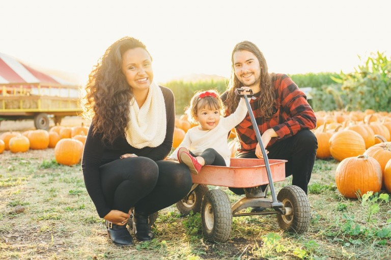 fall family portraits by michelle roller photography