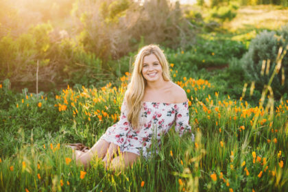 paso robles high school senior portraits