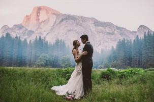 Yosemite national park elopement