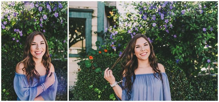 Atascadero high school senior portraits