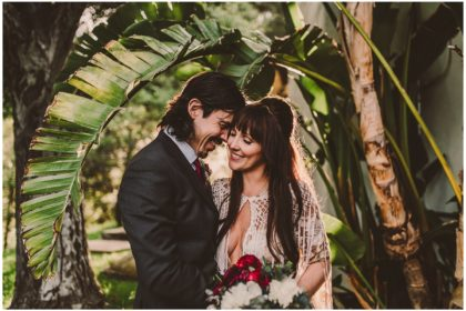 Native american topanga canyon wedding