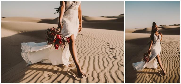 pismo beach dunes wedding