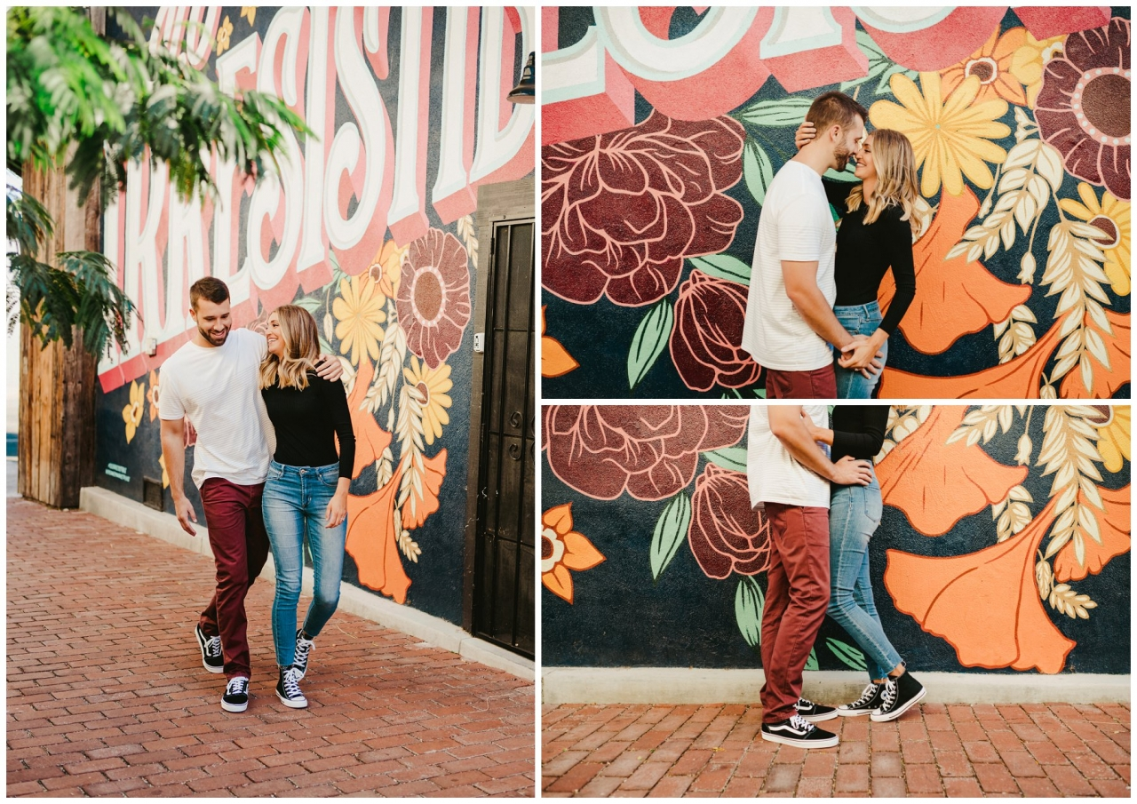 san luis obsispo engagement session